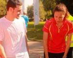слабост по време на бягане